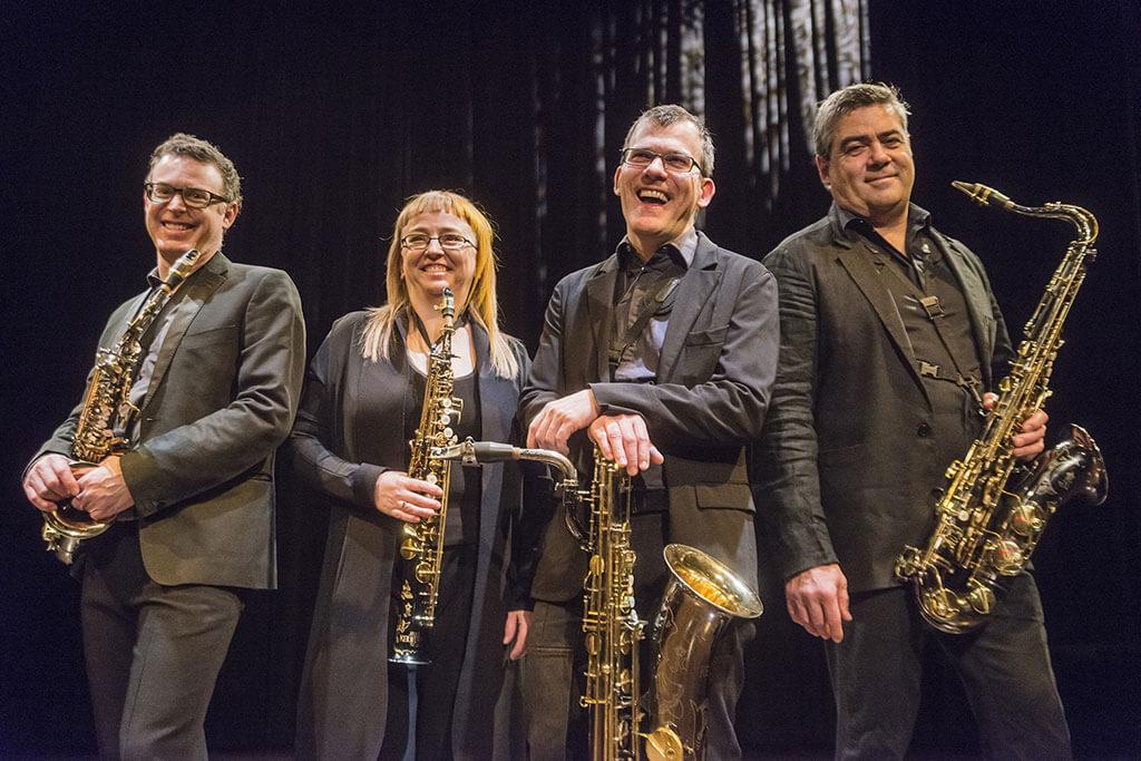 Quatuor Quasar (Photo : Georges Dutil)