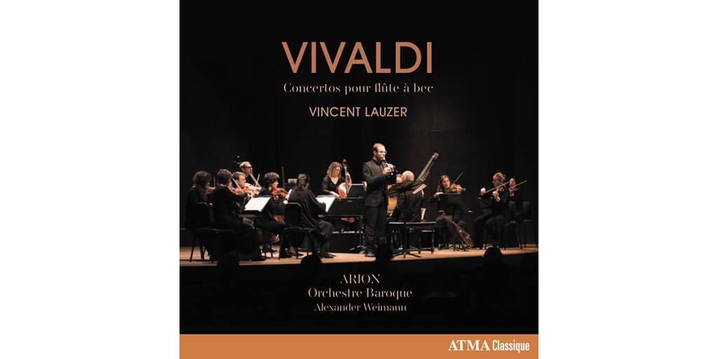 ATMA Vivaldi Concertos pour flûte à bec et orchestre