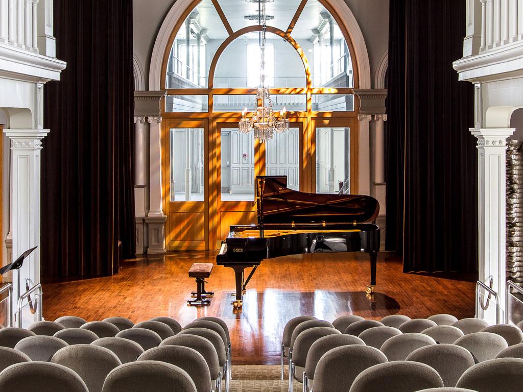 La Chapelle historique du Bon-Pasteur, salle incontournable pour la musique de chambre à Montréal. (Photo: courtoisie de la Chapelle)