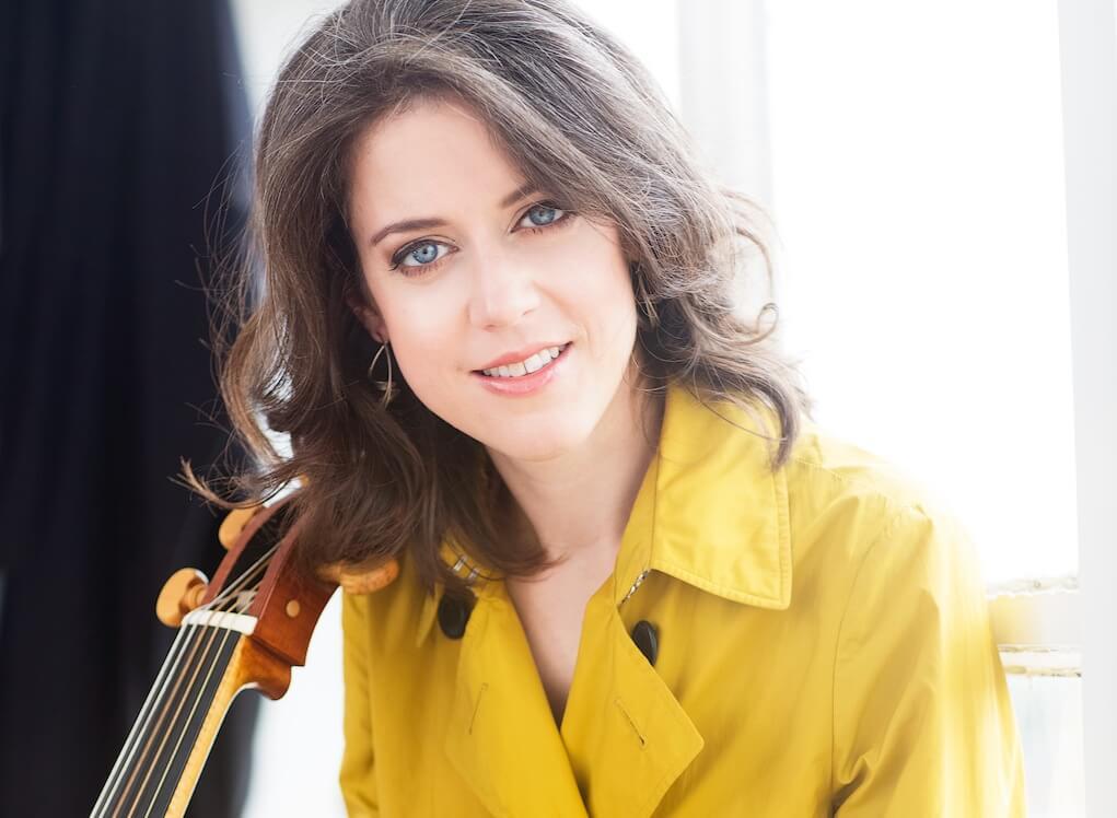 Elinor Frey dans Johann Sebastian Bach - Suites pour violoncelle seul
