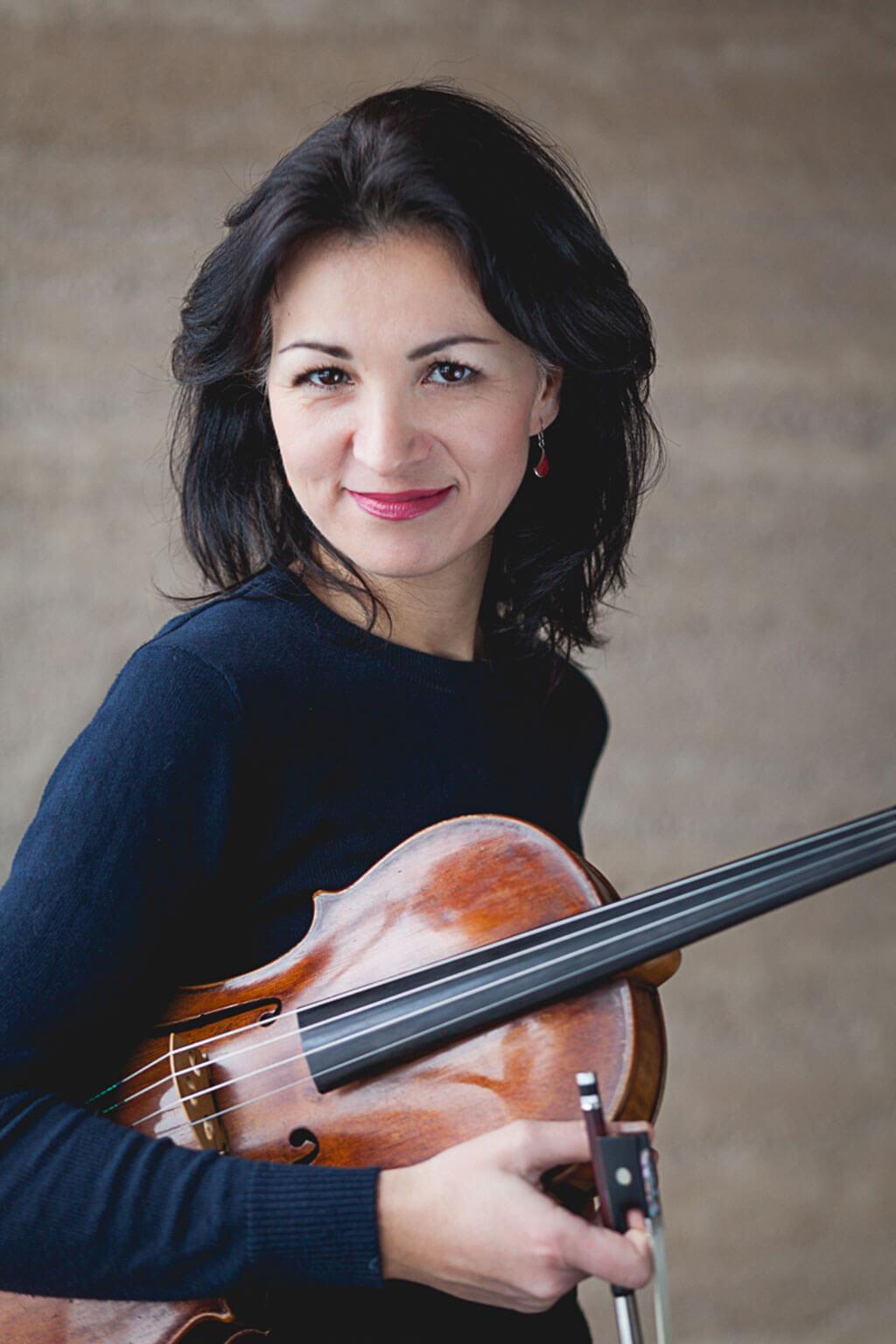 L'altiste Elvira Misbakhova (Photo : Amélie Fortin)