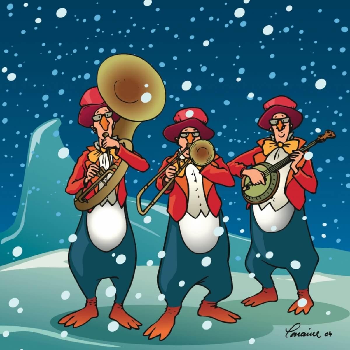 Le Grand Bal de Noël (Illustration : Lorraine Beaudoin)