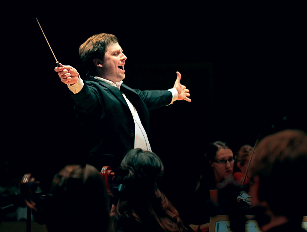 Jean-Philippe Tremblay, directeur artistique et musical de l'Orchestre de la Francophonie. (Photo: courtoisie).