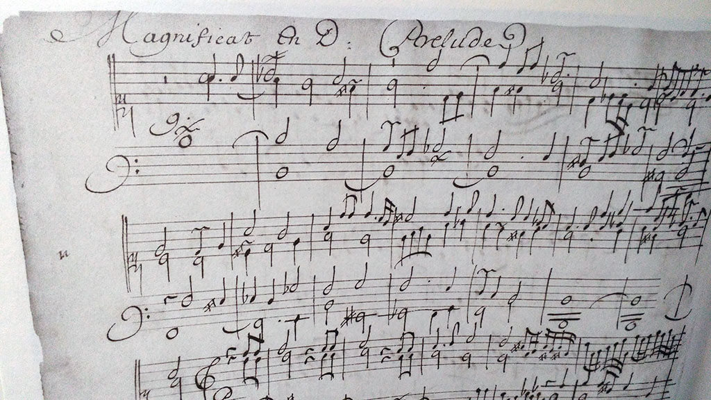 Les pièces du Livre d'orgue de Montréal sont des versets d'orgue destinés à alterner avec le plain-chant pendant les offices religieux. (Crédit photo: Caroline Rodgers)