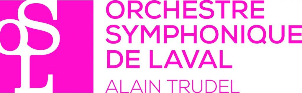 logo rose de l'Orchestre symphonique de Laval