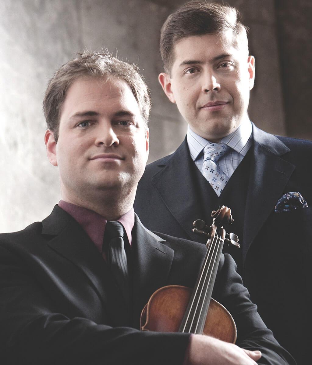 Olivier Thouin, violoniste, et François Zeitouni, pianiste (Photo : Alain Lefort)
