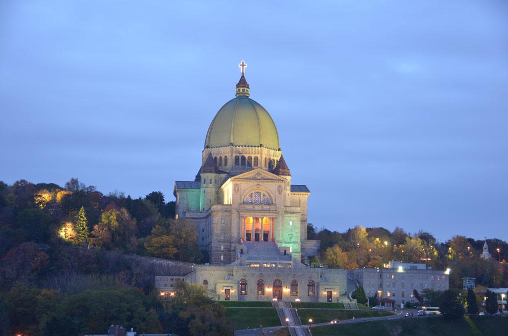 Oratoire Saint-Joseph (Crédit : Samuel Martin)