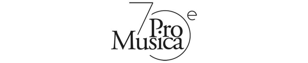 Pro Musica 70e logo