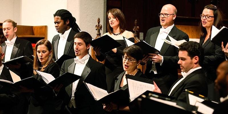 Choir of Trinity Wall Street (Photo : Mark Dolejs)