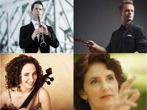 Todd Cope, clarinette Marc Djokic, violon Chloé Dominguez, violoncelle et Louise Bessette, piano