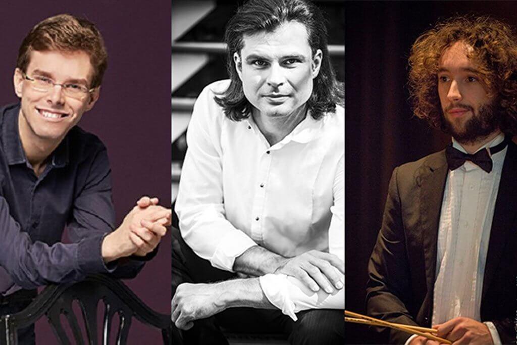 Serhiy Salov, piano Philippe Prud'homme, piano et Léo Guiollot, percussion