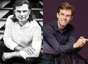 Philippe Prud'homme, piano et Serhiy Salov, piano