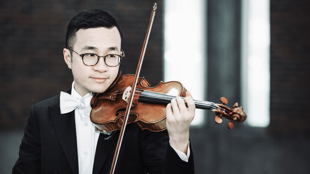 Andrew Wan, violon-solo de l'OSM. (Photo: courtoisie de l'OSM)