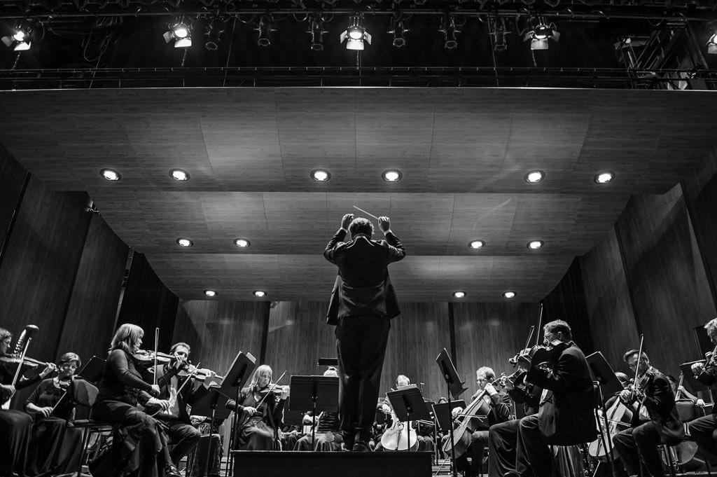 Julien Proulx et l'Orchestre symphonique de Drummondville (Photo : Véronique St-Amand)