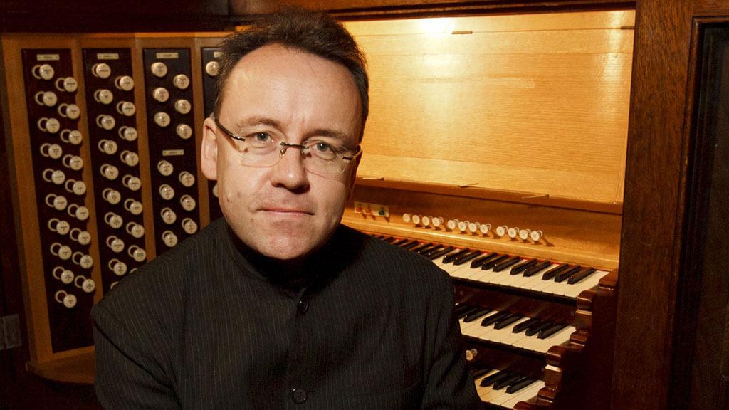 L'organiste David Briggs est l'invité du CIOC.