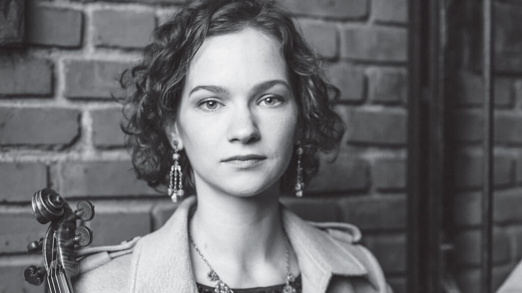 Hilary Hahn. (Photo: courtoisie de l'OSM)