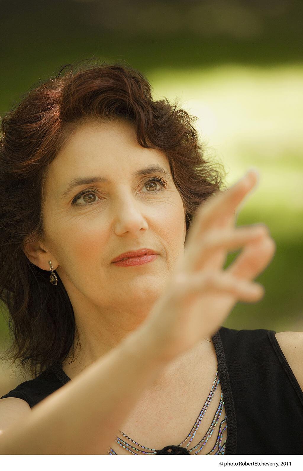 De nombreux compositeurs québécois et canadiens ont écrit des œuvres pour Louise Bessette. (Crédit: Robert Etcheverry)