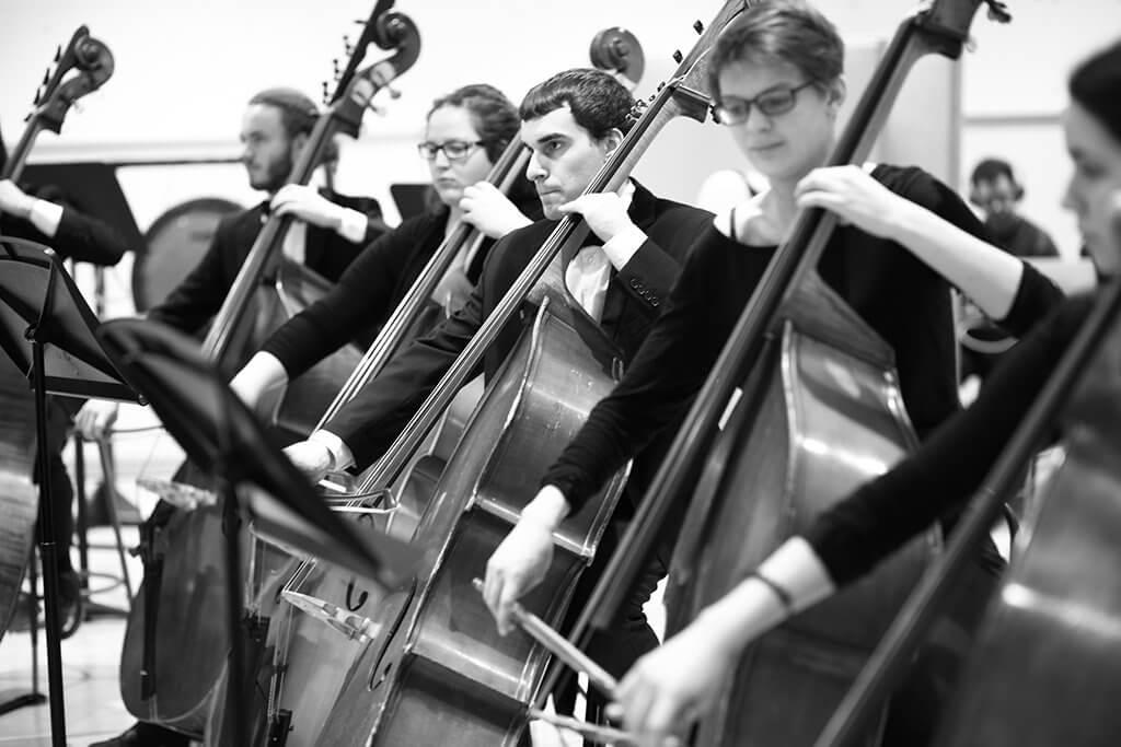 Musiciens du conservatoire (Crédit : Jimmi Francoeur)