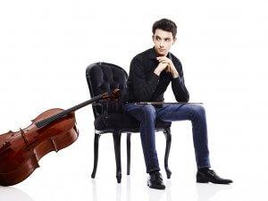 Stéphane Tétreault, violoncelliste. (Crédit: Luc Robitaille)