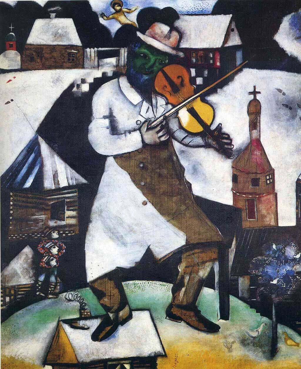 The Fiddler, Chagall 1913