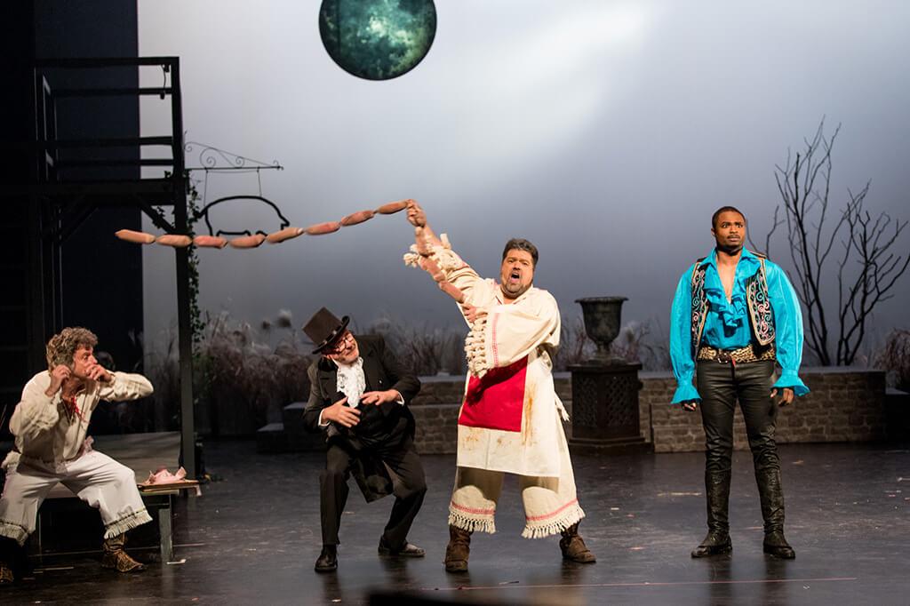 La version du Baron Tzigane présentée par l'Opéra Bouffe du Québec est en français. (Crédit photo: Bonnallie Brodeur)