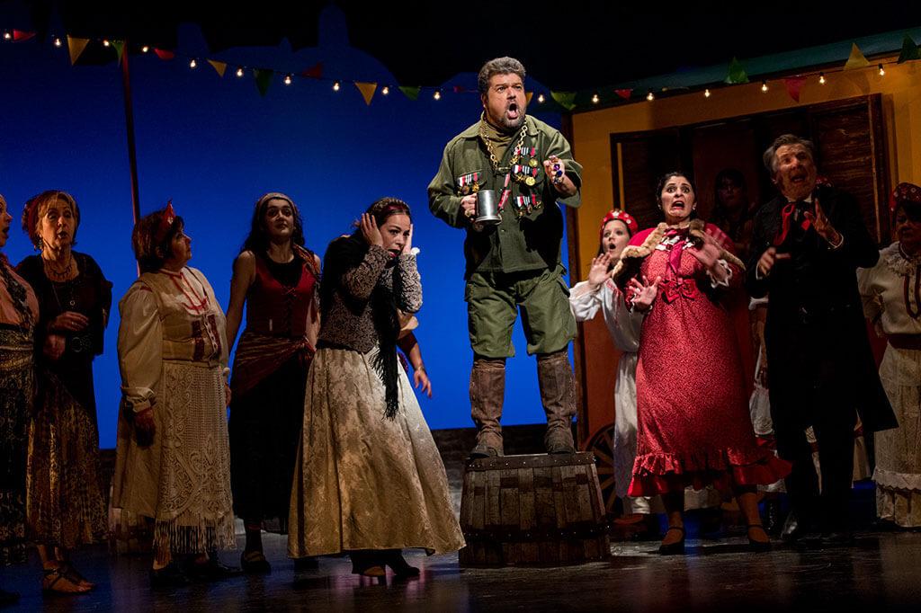 Le Baron Tzigane, une production de l'Opéra bouffe du Québec, les 10, 11 et 17 novembre, 20 h et les 12, 18 et 19 novembre, 15 h, Maison des arts de Laval. (Crédit: Bonnallie Brodeur)