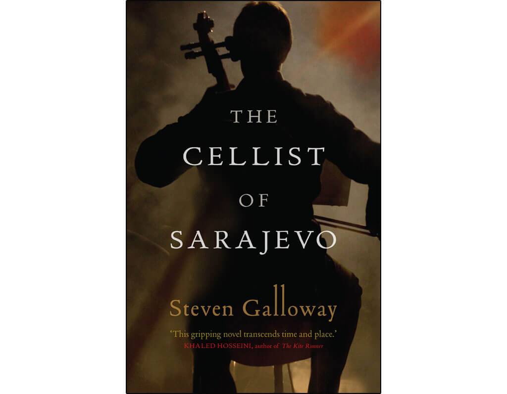 Canadian novels about classical music: The Cellist of Sarajevo