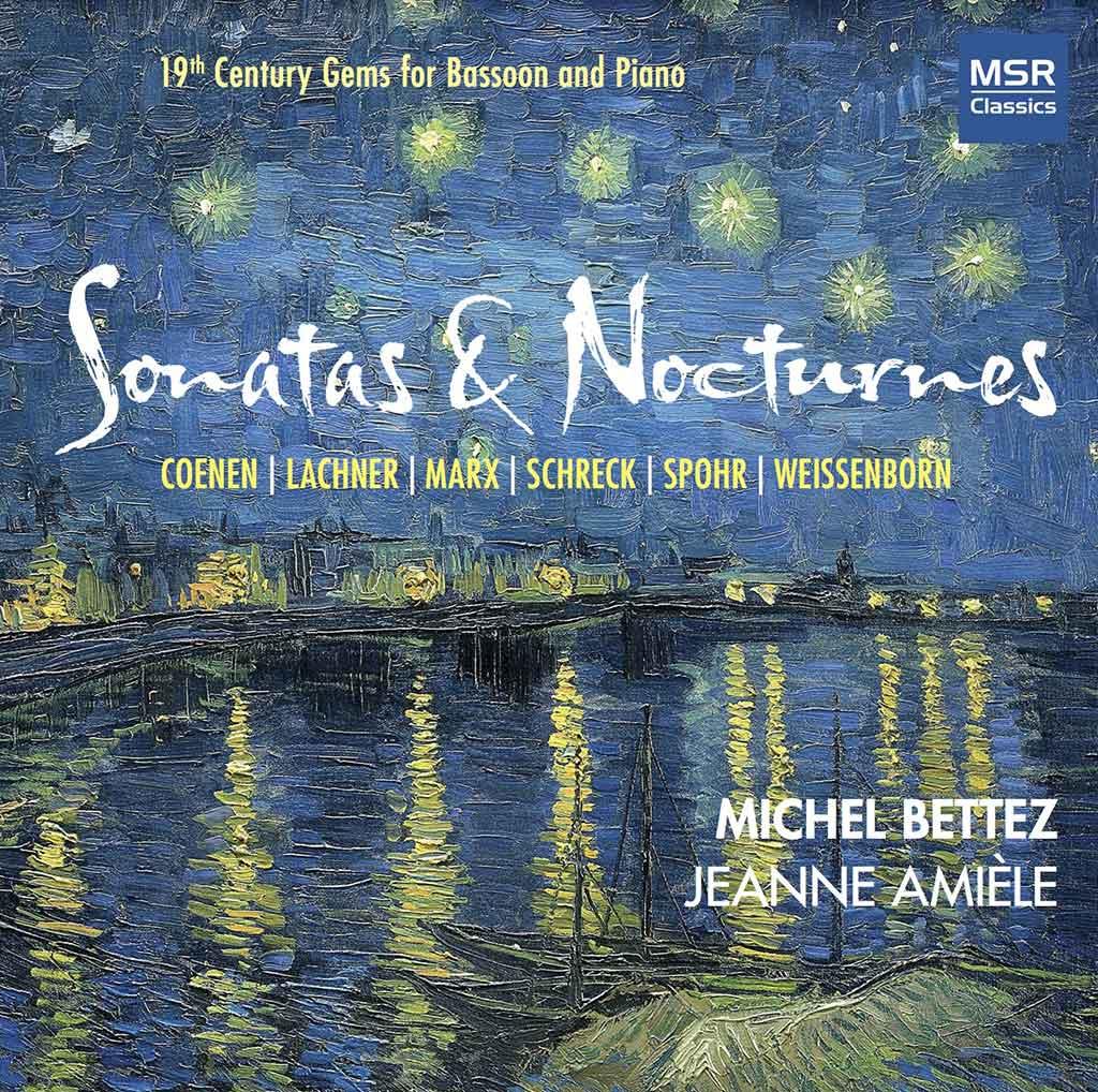 Sonatas & Nocturnes, par Michel Bettez et Jeanne Amièle