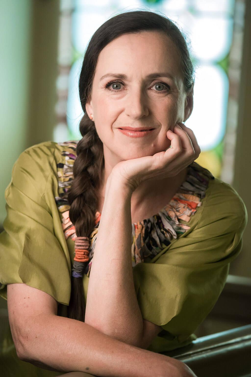 Geneviève Soly, fondatrice des Idées heureuses. (Crédit: Robert Etcheverry)