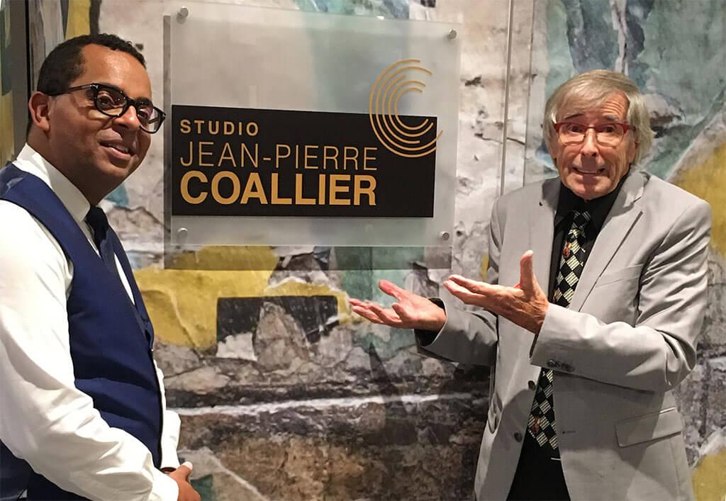 Gregory Charles, ici en compagnie de Jean-Pierre Coallier pour les 20 ans de Radio-Classique, a été nommé directeur artistique du Festival de Lanaudière. (Crédit: Marie-Josée Lestage