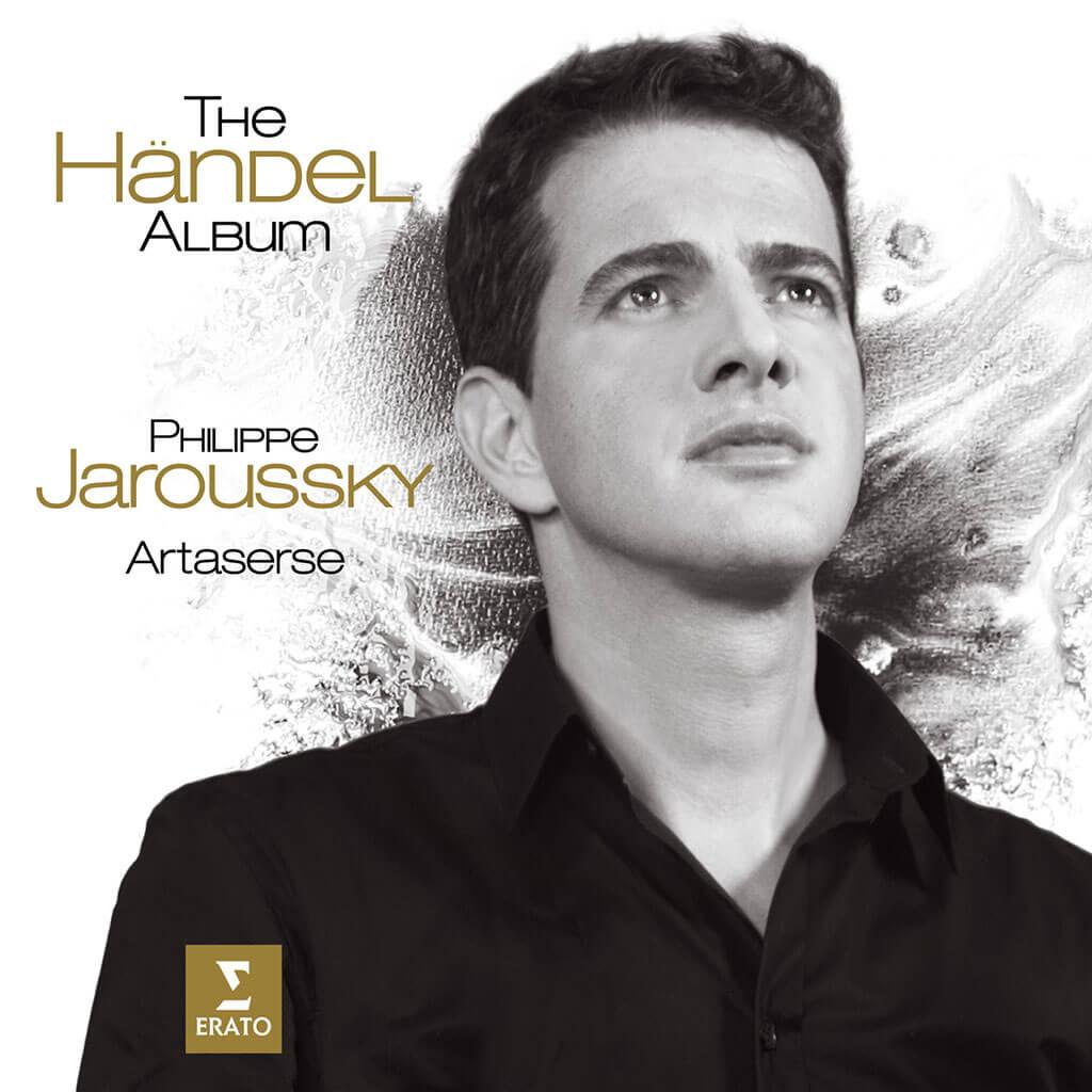 Philippe Jaroussky, The Händel album, sous étiquette Erato/Warner Classics