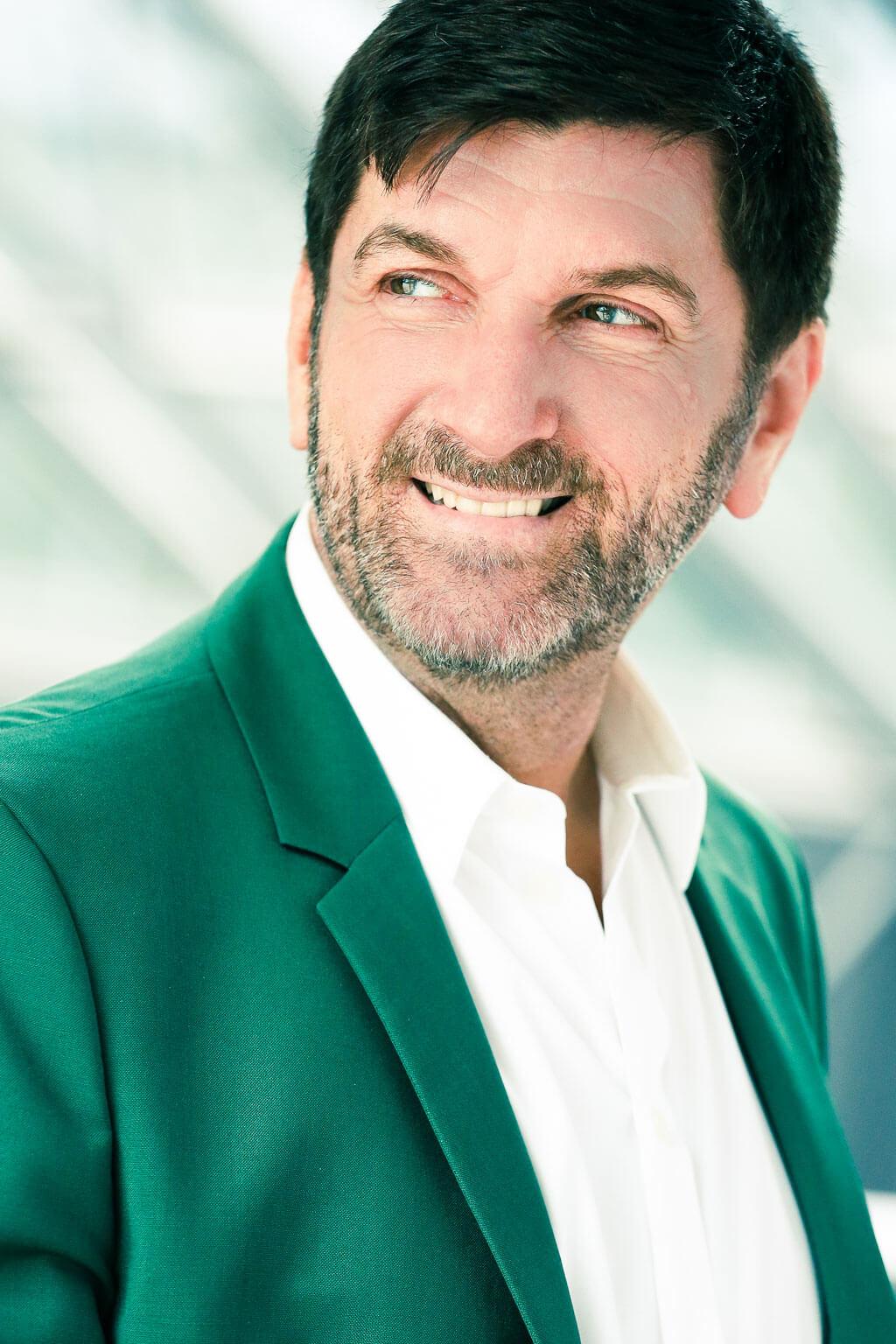 Luc Beauséjour, fondateur de Clavecin en concert. (Crédit: Annie Ethier).