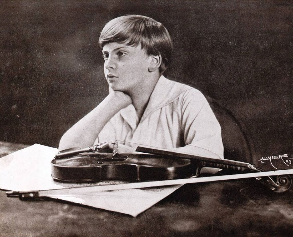 Yehudi Menuhin (Credit : Bibliothèque nationale de France)