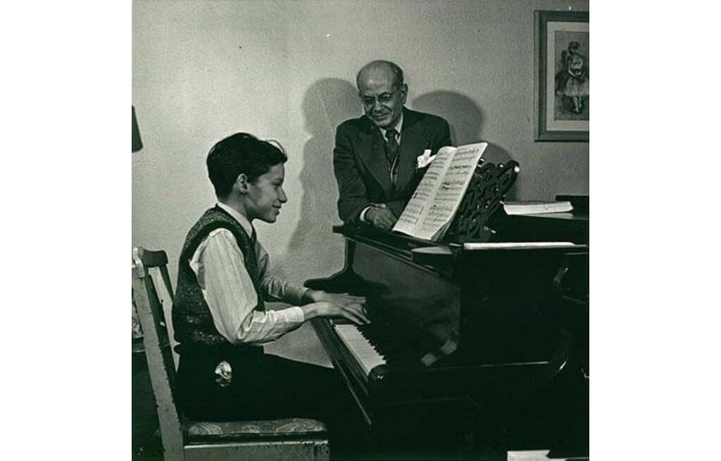 Glen Gould and Alberto Guerrero