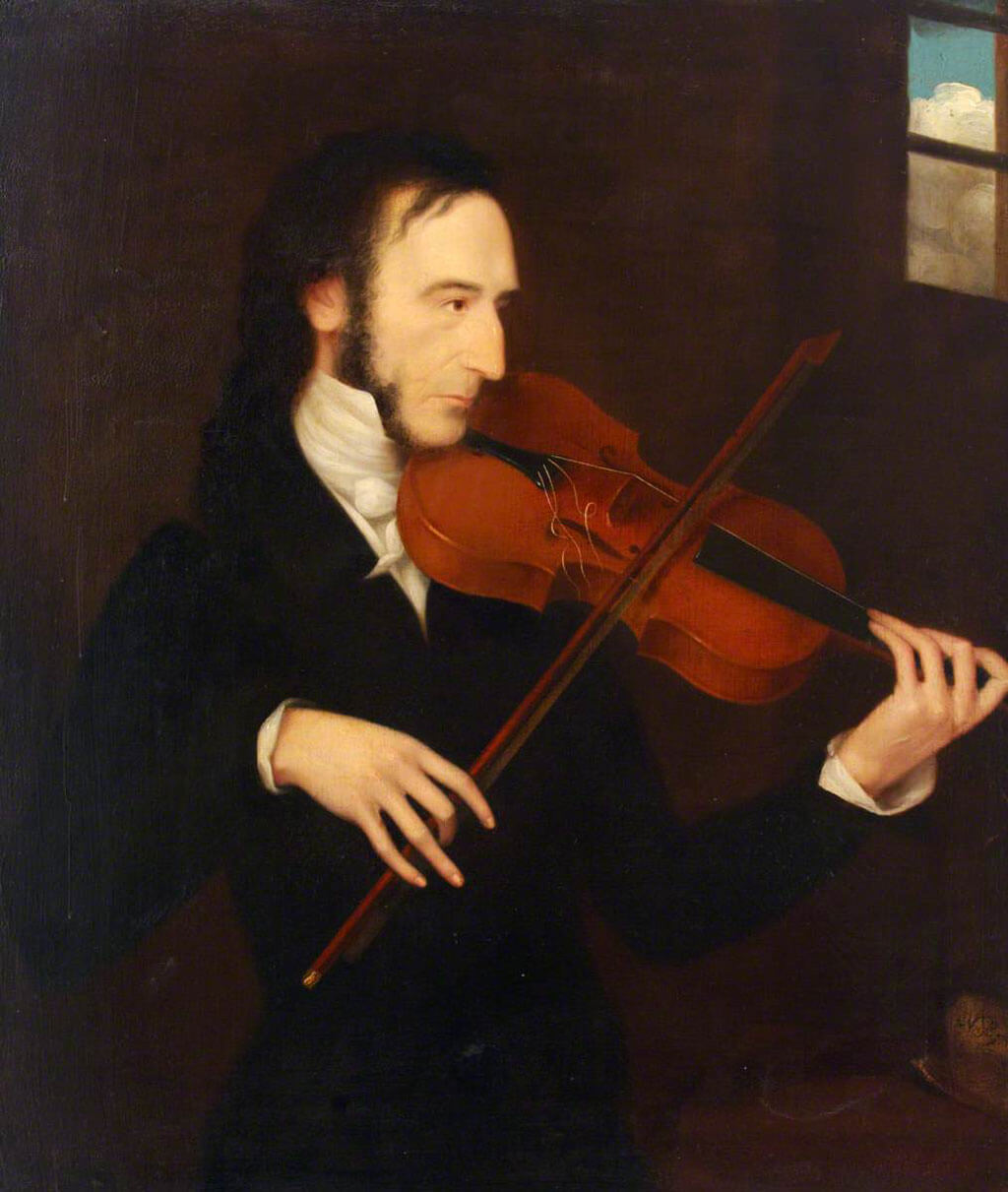 Niccolò Paganini (1782–1840), Daniel Maclise, Royal Academy of Music
