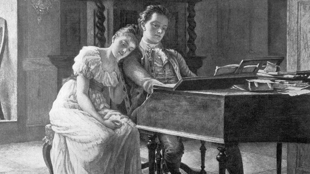 Felix Mendelssohn (1809-1847) par R. Poetzelberge