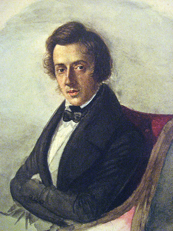 Frederic Chopin, by Maria Wodziska