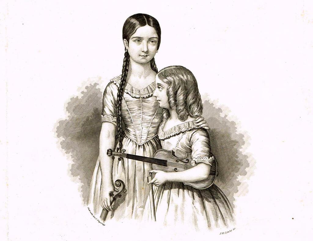 Teresa and Maria Milanollo