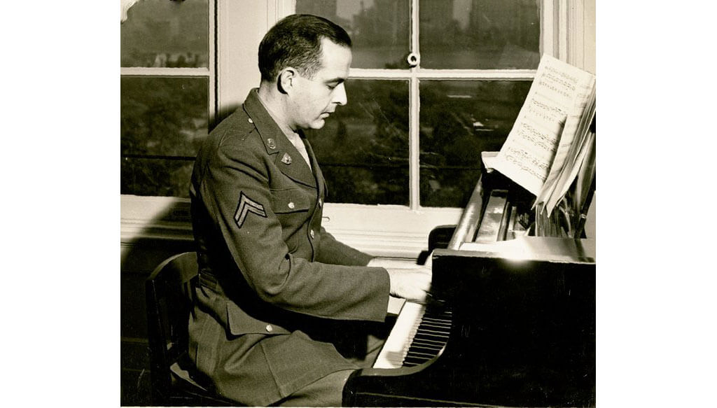 Samuel Barber (Credit : The Roman Totenberg Papers The Library of Congress Music Division Washington DC)