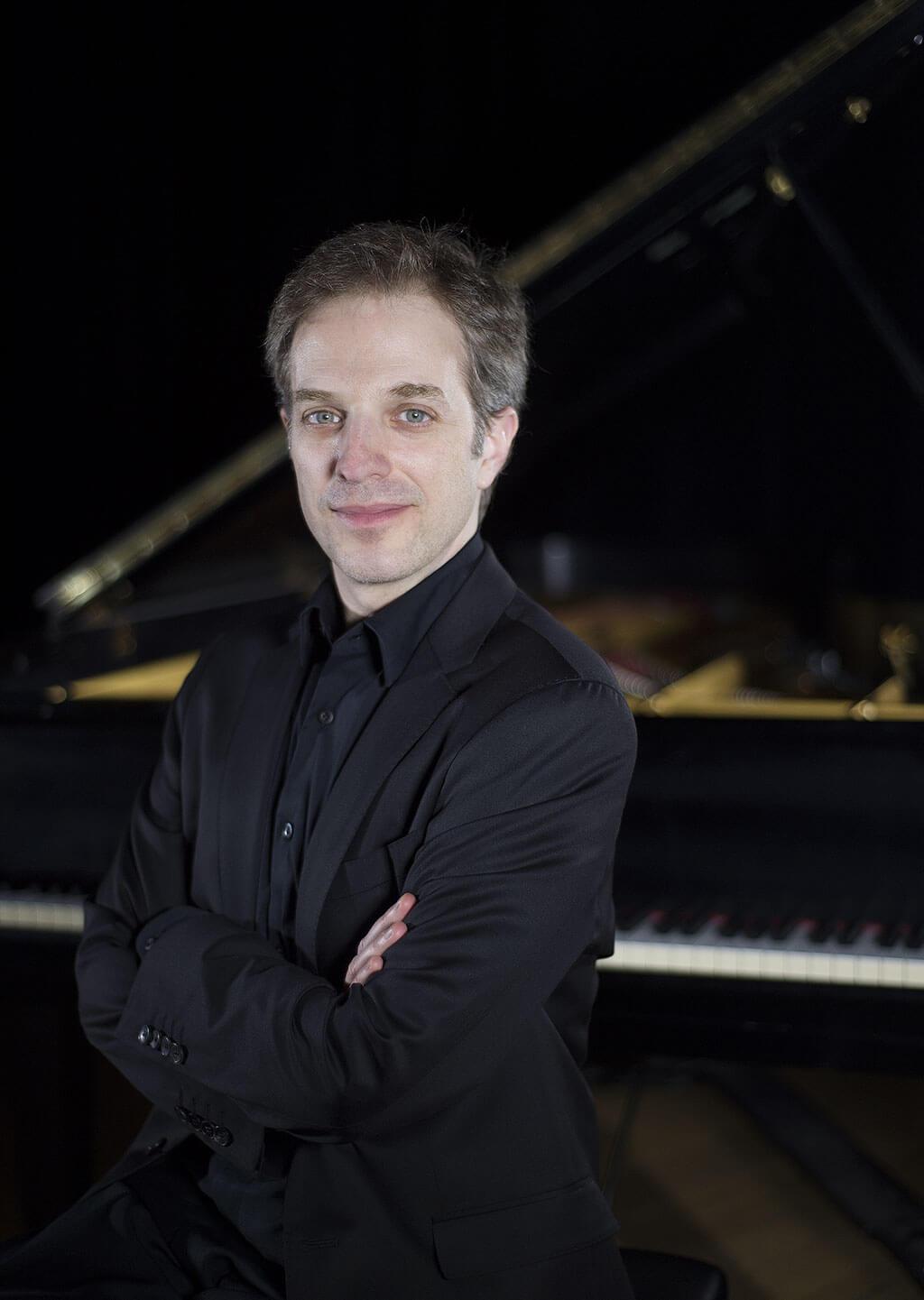 Stéphane Aubin, pianiste et arrangeur. (Crédit: Pascal Milette)