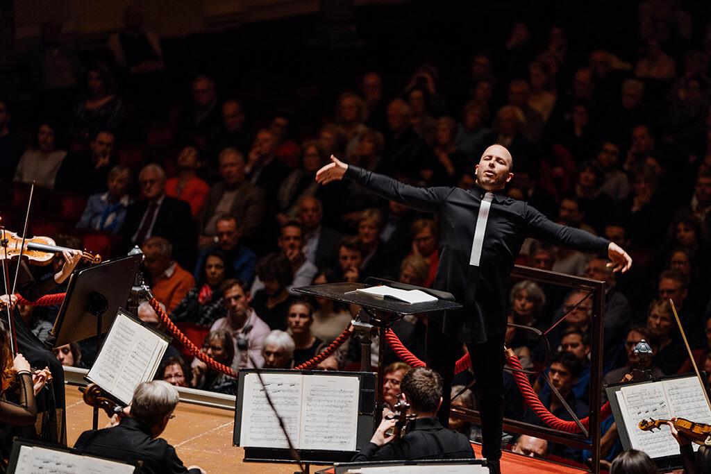 L'Orchestre Métropolitain a poursuivi sa tournée européenne au Concertgebouw d'Amsterdam sous la direction de Yannick Nézet-Séguin, le 29 novembre 2017. (Crédit: François Goupil)