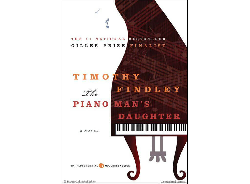 Canadian novels about classical music: The Piano Man Daughter, by Timothy Findley