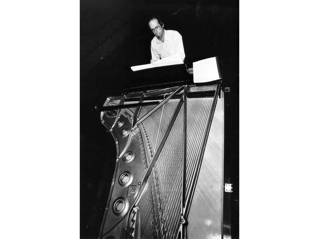 Pionniers de la musique québécoise: Bruce Mather. (Photo: courtoisie)