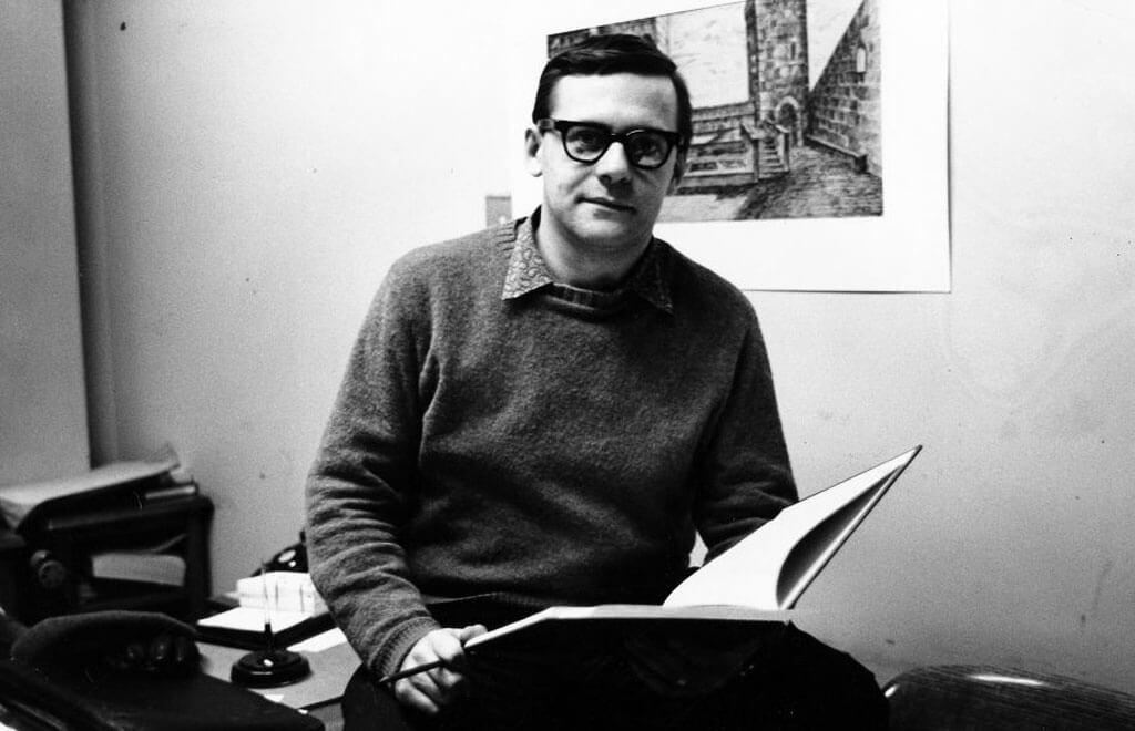Pionniers de la musique québécoise: Pierre Mercure. (Photo: Radio-Canada)