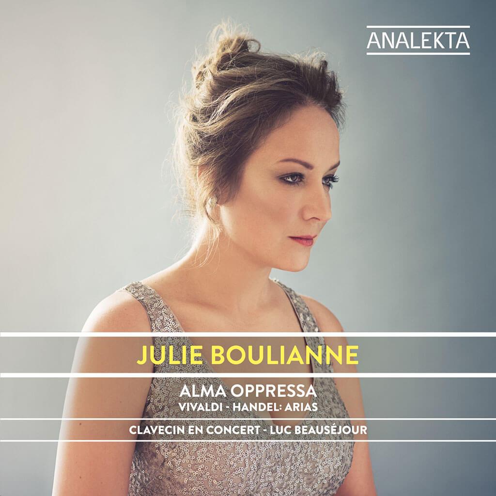 Albums essentiels de 2017: Alma Opressa, de Julie Boulianne, avec Clavecin en concert, chez Analekta.