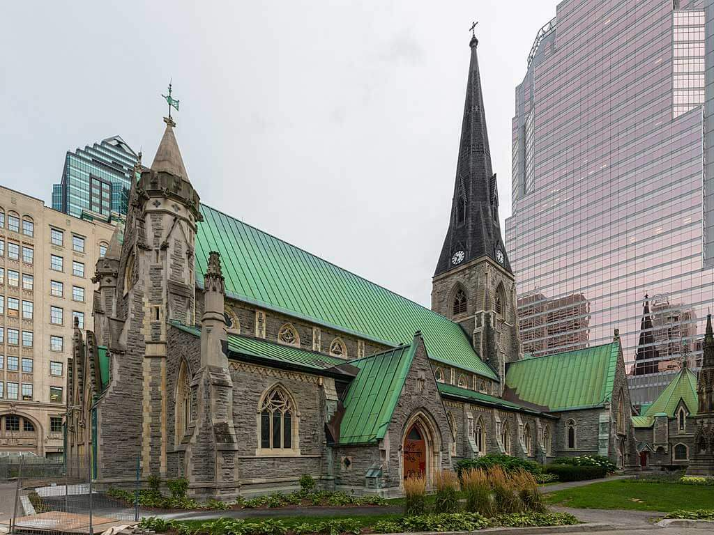 Christ Church Cathedral, Montréal. (Crédit: Diego Delso)