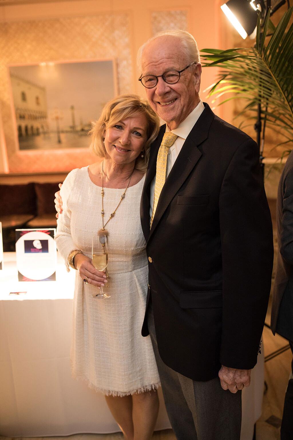 Christiane LeBlanc, directrice générale et artistique du CMIM, et James Norcop. (Photo: courtoisie)