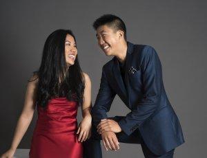 Silvie et Bryan Cheng, qui forment le Duo Cheng. (Crédit: Andrée Lanthier)
