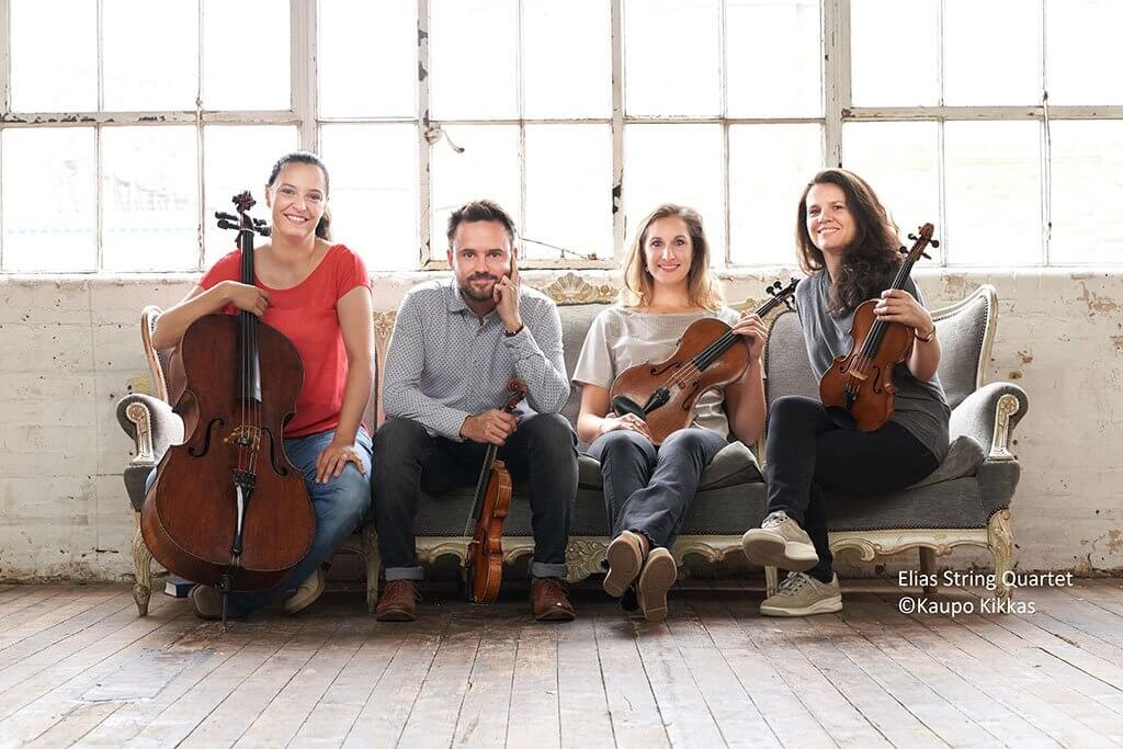 Elias String Quartet (Photo: Kaupo Kikkas)