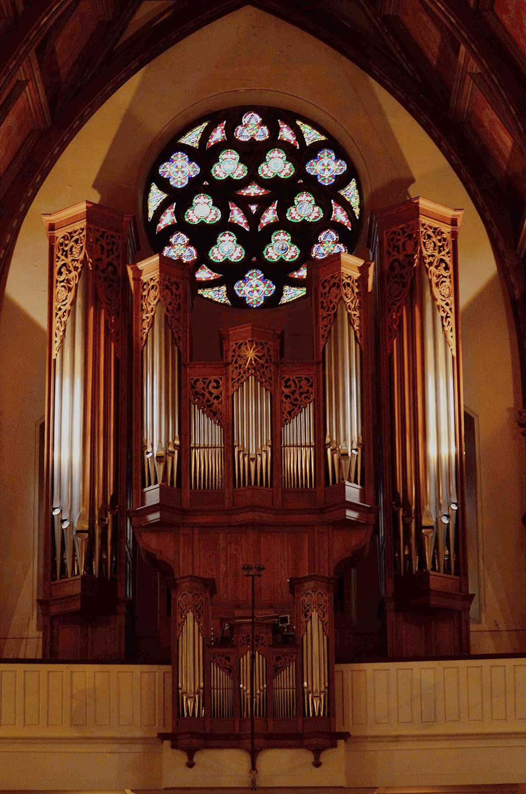 The Karl Wilhelm Organ at Christ Church Cathedral. (Photo: courtoisie)